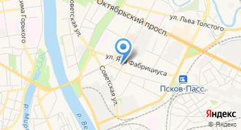 Формат мультимедиа г. Псков на карте
