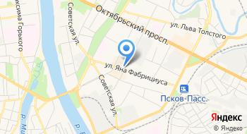 Сервисный центр DNS на карте