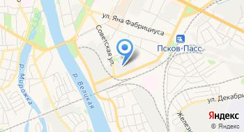 Псковский завод Автоэлектроарматура на карте