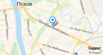 Столовая Сергиевская на карте