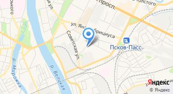 Фонд гарантий и развития предпринимательства Псковской области на карте