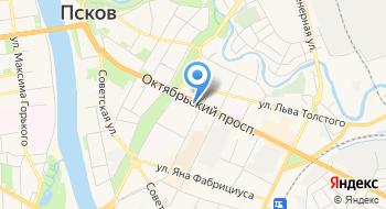 АкваПсков на карте