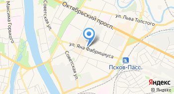 Учебный центр Псков Автошкола на карте