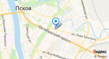 Расчетный центр г. Пскова на карте