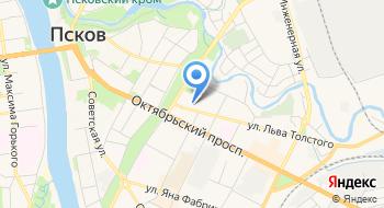 Псковский государственный университет, библиотека на карте
