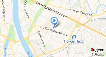 Колледж, ПсковГУ на карте