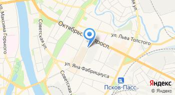 Псковский завод автоматических телефонных станций - Т на карте