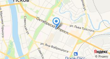 Представительство МИД России в г. Пскове на карте