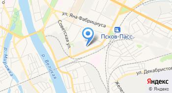 2-я Часть Фгку 1-й Отряд ФПС по Псковской области на карте