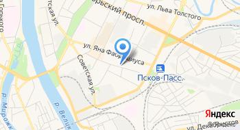 ФГУ Псковводхоз на карте