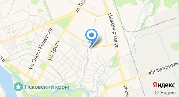 Государственный архив Псковской области на карте