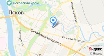 Универсант бассейн Псков ГУ на карте