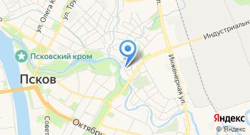 Отдел спецназа управление Федеральной Службы Исполнения Наказаний России по Псковской области на карте