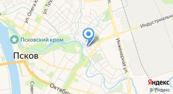 Отряд специального назначения Управления Фсин по Псковской области на карте