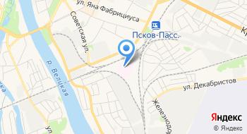 Псковский областной онкологический диспансер на карте