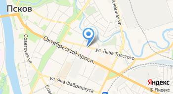 Энки, строительная компания на карте