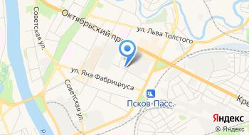 Икеа Псков на карте