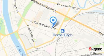 Псковская Природоохранная Межрайонная Прокуратура на карте