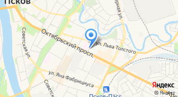 УМВД России по Псковской области на карте