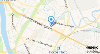 Ледосвет Псков на карте