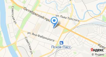 Псковский завод АДС на карте