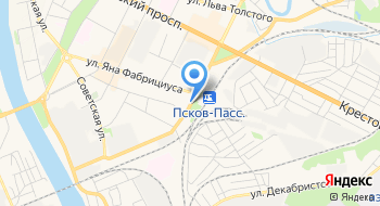 Музей Псковских железнодорожников на карте