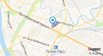 Инвестиционная компания Псковская на карте
