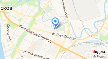 Евангелическо-Лютеранская Церковь Ингрии. Псковская община на карте