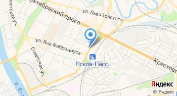 ПравоведЪ, юридическая фирма на карте