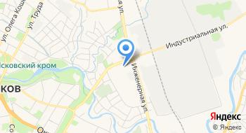 Отделение почтовой связи Псков 180021 на карте