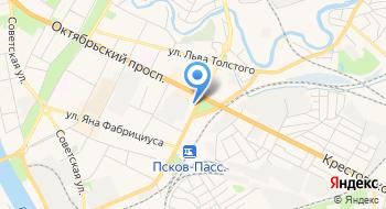 Центр дистанционного обучения Псковской области на карте