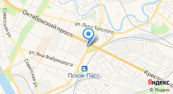 ЦТО Санкт-Петербуг на карте