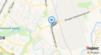 Псковский государственный университет, общежитие на карте