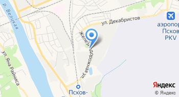 Строительная компания Зодчий Псков на карте