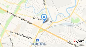 Псковская Газовая компания на карте