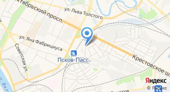 Псковский кабельный центр на карте