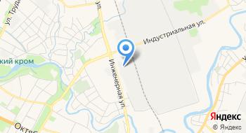 Псковский Областной Учебный комбинат Жилищно-коммунального Хозяйства на карте