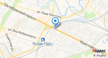 Псковский молочный комбинат на карте
