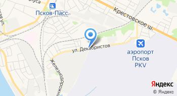 ПсковАгроПромДорСтрой, оптово-розничная компания по металлопрокату на карте