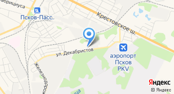 Петербургская топливная компания на карте