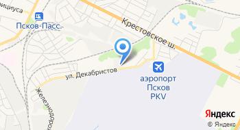 Топас на карте