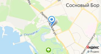 Церковь Николая Чудотворца в Сосновом Бору на карте