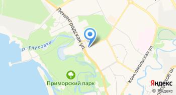 Банк ВТБ, отделение на карте