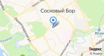 Сосновоборский Дом Культуры на карте