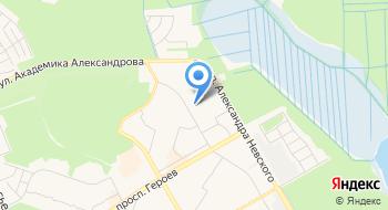 Следственный отдел по г. Сосновый Бор Следственного управления Следственного Комитета РФ по Ленинградской области на карте