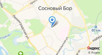 Федерация волейбола города Сосновый Бор на карте