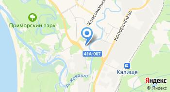 СПбГУ, филиал на карте