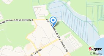 Сосновоборская автошкола ВОА №5 на карте