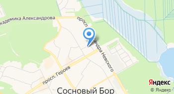 Глав-Сваи СПб на карте