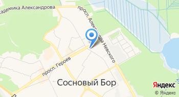 Приход храма преподобного Серафима Саровского на карте